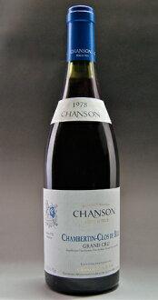 Chambertin Clos de-baize Grand Cru [1978] (chanson Père et Fils) Chambertin Clos de Beze Grand Cru [1978] (CHANSON PERE & FILS)