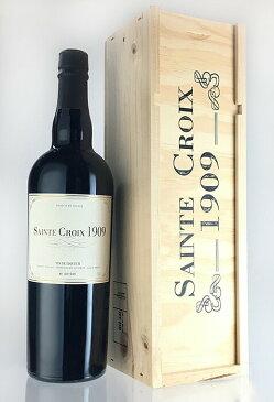 ヴァン・ド・リキュールト [1909] 秘蔵古酒 (ドメーヌ・サン・クロワ) 木箱入り Vin de Liqueur [1909] (Domaine Saint Croix) 【甘口】【赤 ワイン】