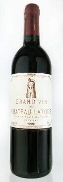シャトー・ラトゥール [1986] メドック格付第一級・AOCポイヤック Chateau Latour [1986] Grand Cru Classes Premiers Cru du Medoc AOC Pauillac 【赤 ワイン】【フランス】【ボルドー】