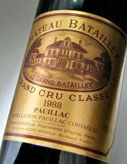 シャトー・バタイエ[1988]メドック格付け第5級AOCポイヤックChateauBatailley[1988]【赤ワイン】