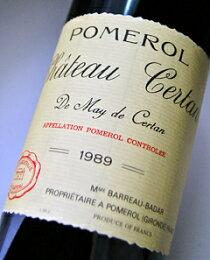 シャトー・セルタン・ド・メイ[1989]AOCポムロールChateauCertandeMaydeCertan[1989]AOCPomerol【赤ワイン】