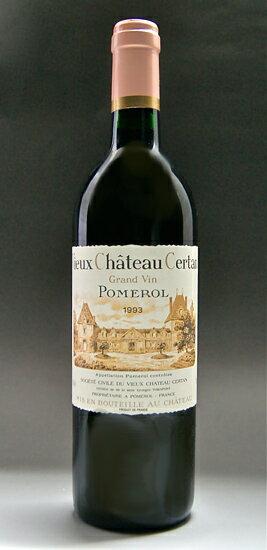 ヴィユー chateau cell tongue [1986] Vieux Chateau Certan [1986]