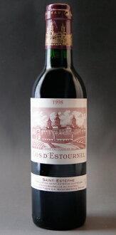 Chateau COS デストゥルネル [1998] 375 ml Chateau Cos d ' Estournel [1998] 375 ml