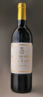 Chateau ピション ロングヴィル continuities ド ラランド [2002] Chateau Pichon Longueville Comtesse de Lalande [2002]