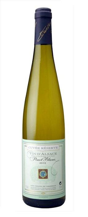 アルザス ピノ・ブラン キュヴェ・レゼルヴ [2018] (テュルクハイム葡萄栽培者組合) Alsace Pinot Blanc Cuvee Reserve [2018] (Cave Vinicole de Turckheim) 【白 ワイン】【フランス】【アルザス】