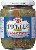 ピクルスのみじん切り【アメリカンレリッシュ(235g)】タルタルソースやホットドッグ作りに