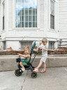 リキトライク 世界最小 折りたたみ 三輪車 10ヶ月〜3歳 セカンドベビーカー 成長に合わせて 変形 1歳のお誕生日 プレゼント liki trike プレミアム レーサーグリーン