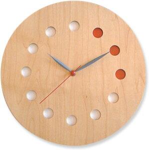 コサイン 掛け時計 メープル