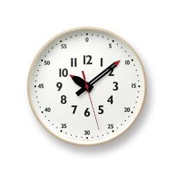 掛け時計レムノスlemnosfunpunclockふんぷんくろっくアナログ時計