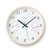 レムノス 掛け時計 ホワイト