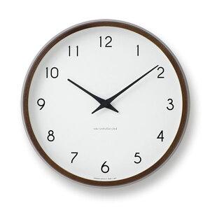 クーポン レムノス 掛け時計 カンパーニュブラウン