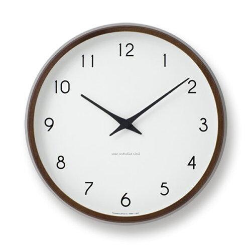 [最大14倍]LEMNOS(レムノス)掛け時計Campagneカンパーニュブラウン色lm-PC10-24WBW...