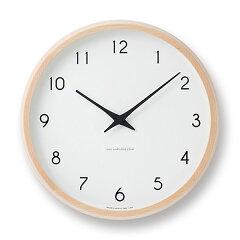 【エントリーで最大18倍→ 4/21 9:59】【最大18倍】掛け時計 レムノス lemnosカンパーニュ ...
