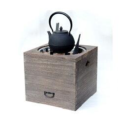 増田屋桐の箱火鉢