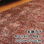 [最大25倍]北欧のラグRonaldo-Neoロナルド・ネオ200×200cm【P10】【10P25May18】