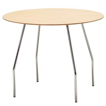 [最大41倍]天童木工藤江和子丸テーブルT-2673WB-ST【P10】【10P14Apr18】
