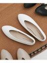 [Rakuten Fashion]Vカットパンプス DOORS アーバンリサーチドアーズ シューズ パンプス ホワイト ブラック ブラウン【送料無料】