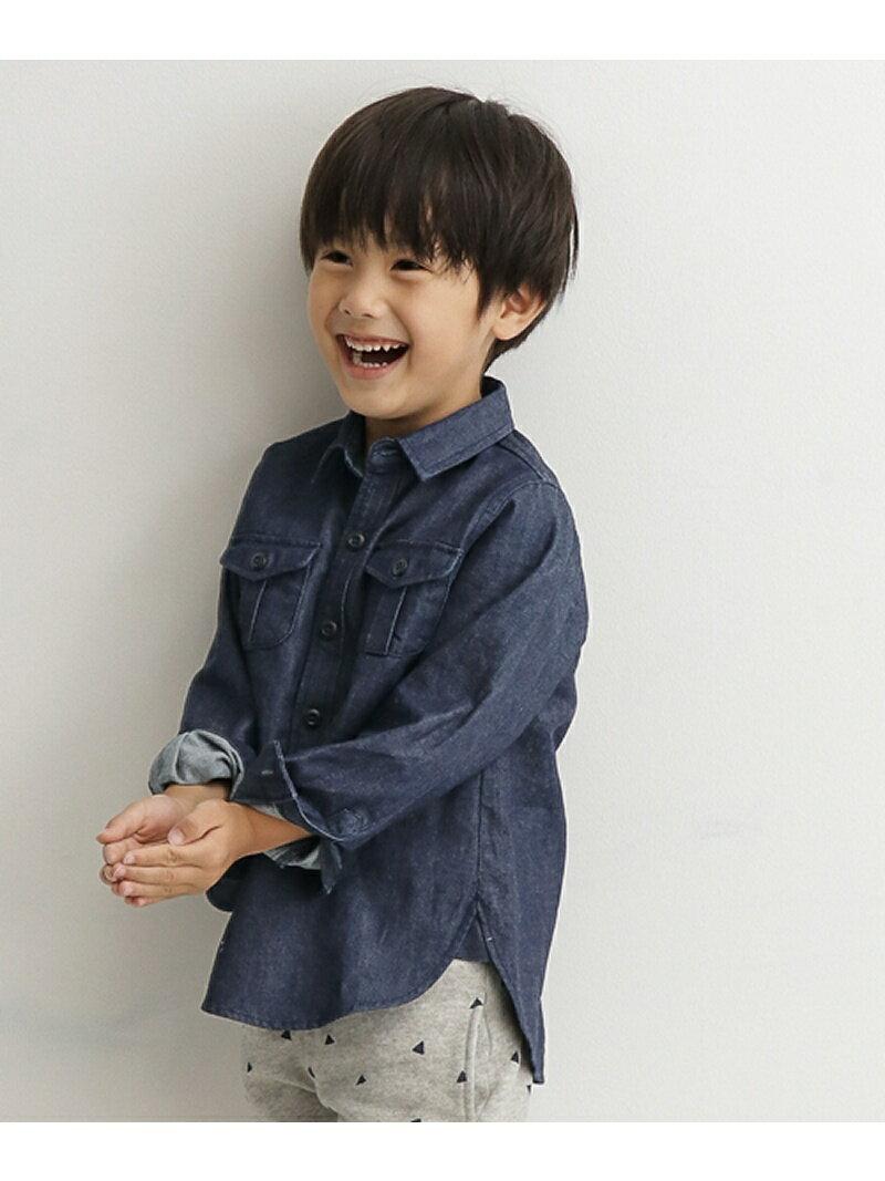 DOORS コットンワークシャツ(KIDS) アーバンリサーチドアーズ【送料無料】