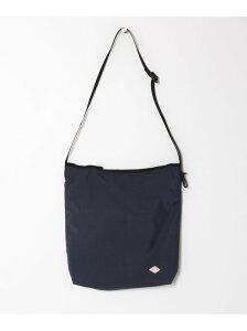 [Rakuten Fashion]DANTON ナイロンタフタショルダーバッグL DOORS アーバンリサーチドアーズ バッグ ショルダーバッグ ブラック【送料無料】