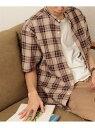 [Rakuten Fashion]【SALE/30%OFF】FORK&SPOON コットンヘンプバンドカラーシャツ DOORS アーバンリサーチドアーズ シャツ/ブラウス シャツ/ブラウスその他【RBA_E】【送料無料】
