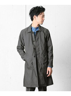 Urban Research Doors Garment Dyed Cotton Polyester Coat DR56-17A001