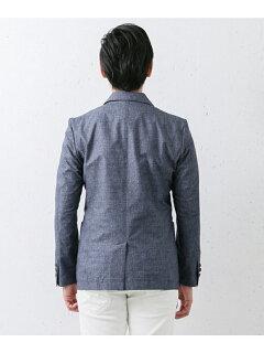 Cool 2-button Jacket DR61-17N006: Blue