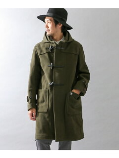 Orcival Pile Cut Herringbone Duffle Coat RC-8413NEV: Olive