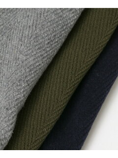 Orcival Pile Cut Herringbone Duffle Coat RC-8413NEV: Grey, Olive, Navy