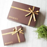 ギフトボックスラッピング 上品なリボン包装♪ プレゼント ギフト 出産祝い kmo出産祝い ギフトにも人気