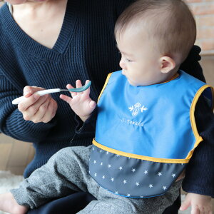 DORACOドラコお食事エプロンギフト出産祝いスタイ防水ベビー用品ナイロン