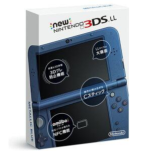 【中古】【ゲーム】【3DS】NEWニンテンドー3DSLLメタリックブルー