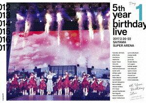 【新品】【DVD】乃木坂46 5th YEAR BIRTHDAY LIVE 2017.2.20−22 SAITAMA SUPER ARENA Day1 乃木坂46