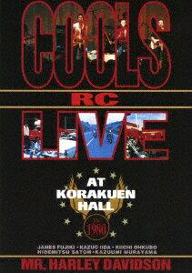 【新品】【DVD】クールスR・Cライヴ・アット・後楽園ホール IN 1980 クールスRC