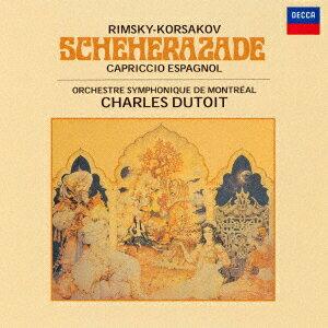 【新品】【CD】リムスキー=コルサコフ:シェエラザード/スペイン奇想曲 シャルル・デュトワ(cond)
