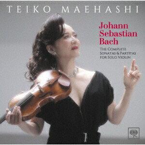 【CD】J.S.バッハ:無伴奏ヴァイオリンのためのソナタとパルティータ(全曲) 前橋汀子(vn)