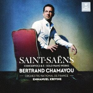 【新品】【CD】サン=サーンス:ピアノ協奏曲 第2番、第5番「エジプト風」 他 ベルトラン・シャマユ