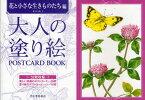【新品】大人の塗り絵POSTCARD BOOK 花と小さな生きものたち編 本田尚子/著