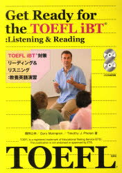 【新品】【本】TOEFLiBT対策リーディング&リスニ 鶴岡 公幸 他著 G.マルムグレン 他