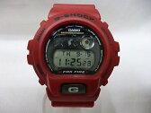 CASIO カシオ G-SHOCK FOX FIRE DW-6900 ジーショック フォックスファイアー デジタル 腕時計 赤 【中古】【送料無料】