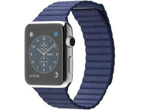 【】appleAppleWatch42mmMサイズブライトブルーレザーループMJ452【Bランク】【送料無料】【アップルウォッチ】