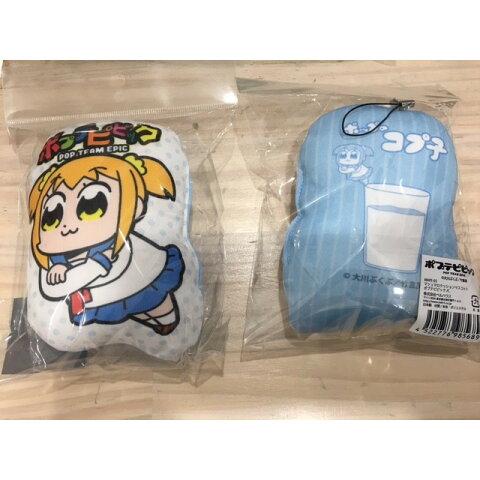 【新品】 ポプテピピック マシュマロクッションマスコットC 〔 グッズ 〕
