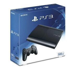 【中古】【ゲーム】【PS3本体】PlayStation3チャコール・ブラック500GB