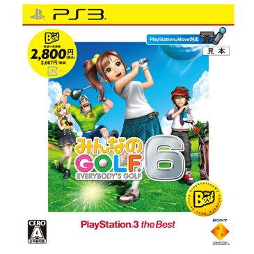 【中古】 みんなのGOLF 6 PlayStation3 the Best PS3 BCJS-70028 / 中古 ゲーム