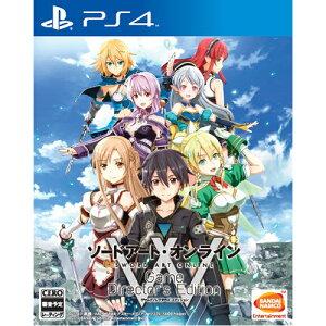 【中古】PS4/ソードアート・オンラインゲームディレクターズエディション