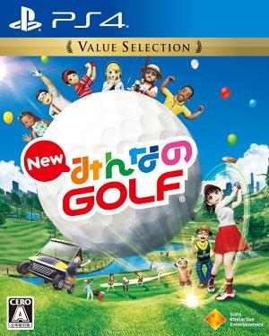 【中古】NewみんなのGOLFValueSelectionPS4/中古ゲーム