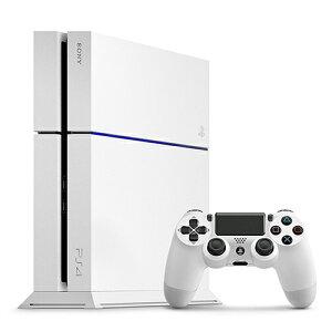 【中古】【ゲーム】【PS4本体】PlayStation4グレイシャー・ホワイト