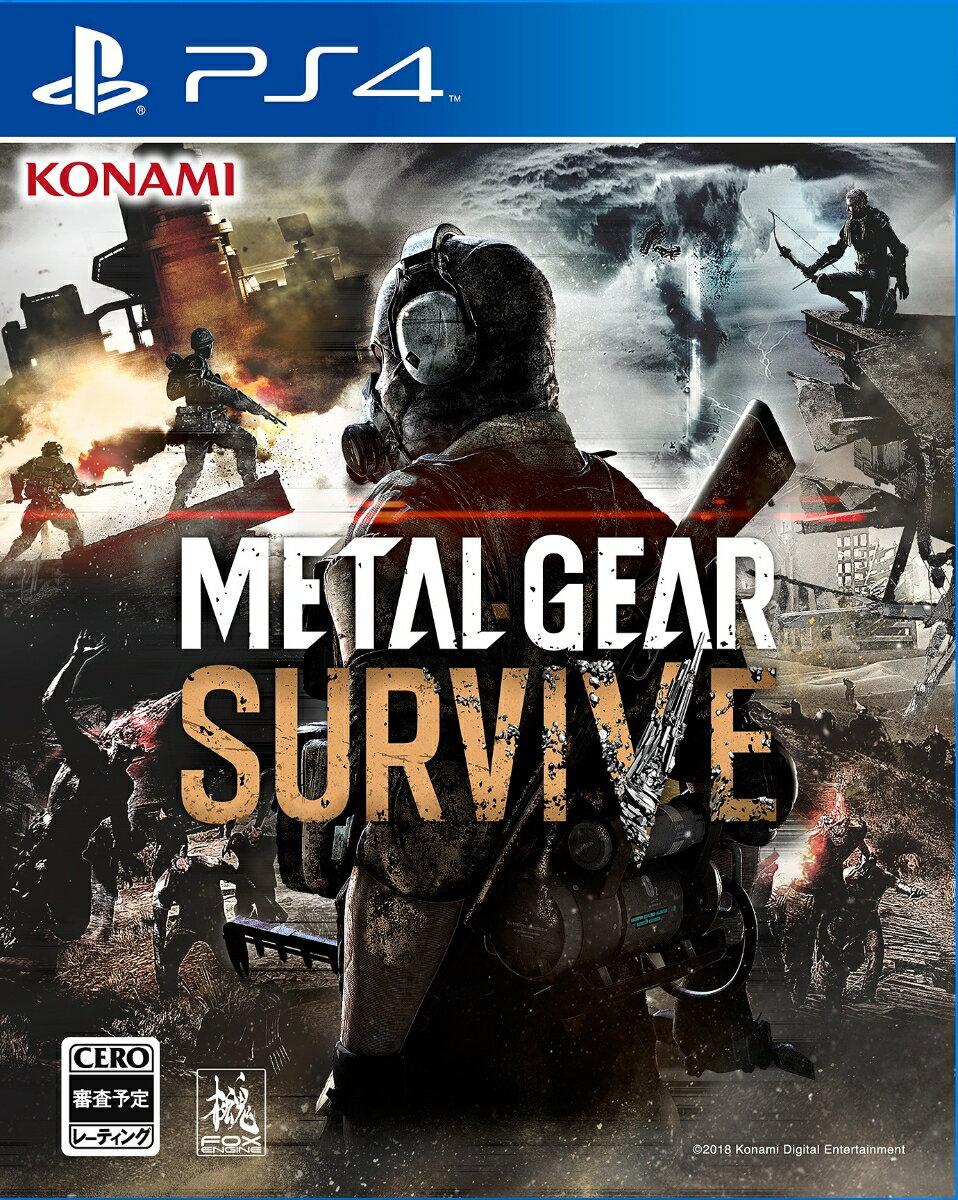 プレイステーション4, ソフト METAL GEAR SURVIVE PS4 VF002-J1