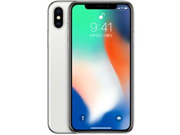 【中古】【白ロム】【au】iPhone X 256GB SIMフリー【〇判定】