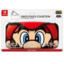 【新品】 QUICK POUCH COLLECTION for Switch (スーパーマリオ) マリオ Nintendo Switch CQP-004-1 / 新品 ゲーム