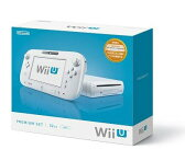 WiiU 本体 プレミアムセット 32GB (Shiro) 【中古】 WUP-S-WAFC / 中古 ゲーム
